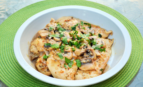 Herbed Mushroom Chicken