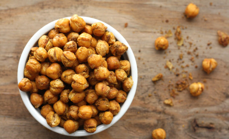 Spicy Roasted Chickpeas Recipe