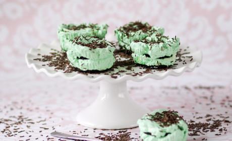 Mint Chocolate Ice Box Cupcakes Recipe