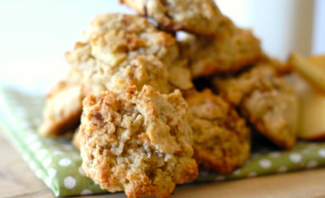Gluten Free Oatmeal Cookies with Apple Recipe