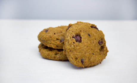 Whole Wheat Pumpkin Chocolate Chip Cookies Recipe