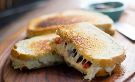 Muffuletta Grilled Cheese Recipe
