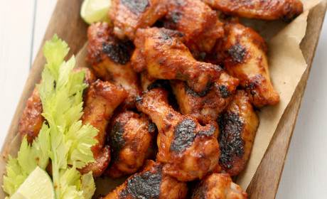Bloody Mary Chicken Wings