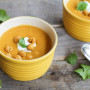 Coconut Curry Soup: With Sweet Potato and Roasted Chickpeas