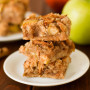 Gluten Free Apple Pie Bars: Grain Free Goodness