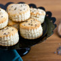 Lavender Cream Biscuits: Afternoon Tea Delight