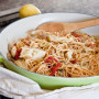 Mediterranean Pasta: Single Girl Supper