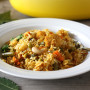 Vegetable Biryani & Le Creuset French Oven Giveaway
