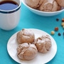 Hazelnut Mocha Meringue Cookies are Lighter than Air