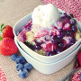 Slow Cooker Cobbler with ALL the Berries