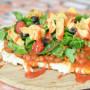 Grilled Chicken Taco Pizza: Gluten Free Goodness