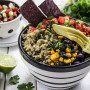 Cilantro Lime Rice Bowl with Avocado and Beans