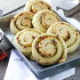 Parmesan Pesto Swirl Rolls