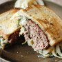 Spinach Artichoke Patty Melt