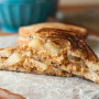 Apple Pie Grilled Peanut Butter Sandwich
