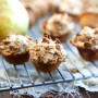 Spiced Pear Mini Muffins