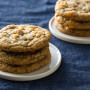 Pumpkin Spice Toffee Cookies