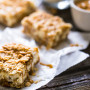 Oatmeal Crumble Peanut Butter Cheesecake Squares
