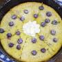 Lemon Blueberry Skillet Pancakes