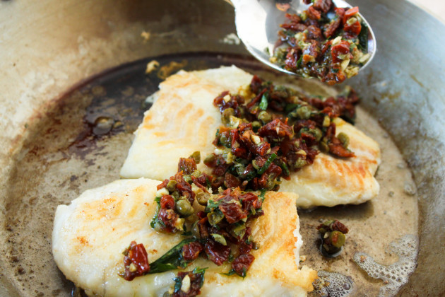Pan-Roasted Cod Photo
