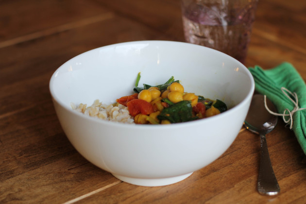 Indian Chickpea Stew Picture