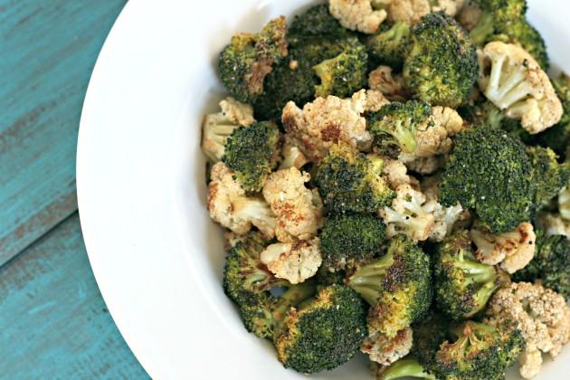 Roasted Broccoli & Cauliflower Photo