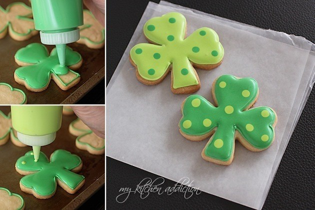 Shamrock Cookies Picture