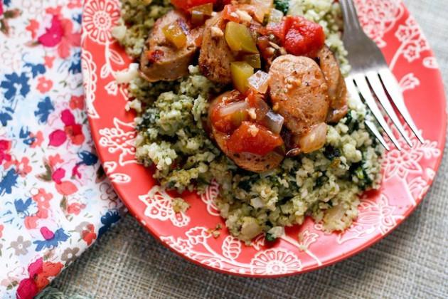 Italian Sausage & Cauliflower Rice Picture