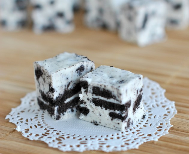 Cookies and Cream Fudge Pic