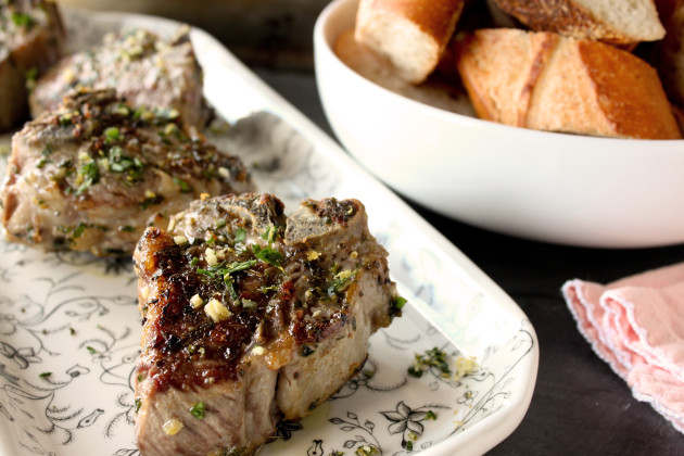 Roasted Lamb Chops Photo