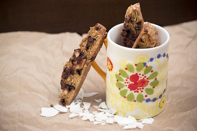 Coconut Almond Biscotti Picture
