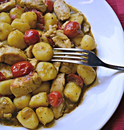 Chicken Pesto Gnocchi Picture