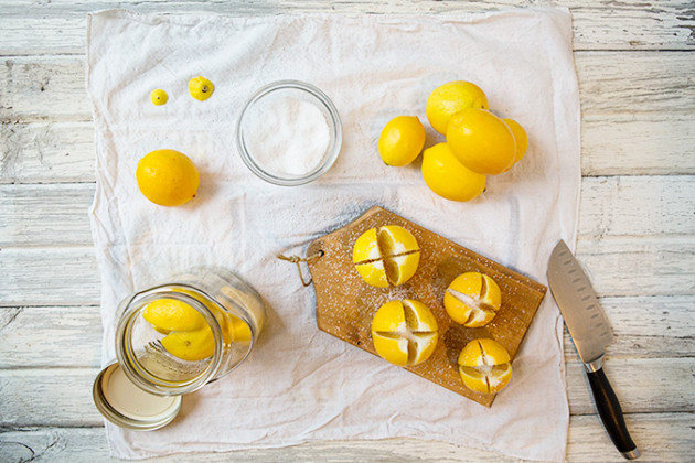 Lemons to Be Preserved