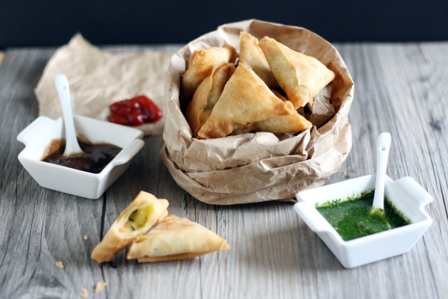 Mini Samosas Picture