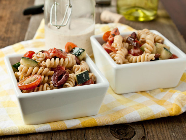 Greek Pasta Salad Photo
