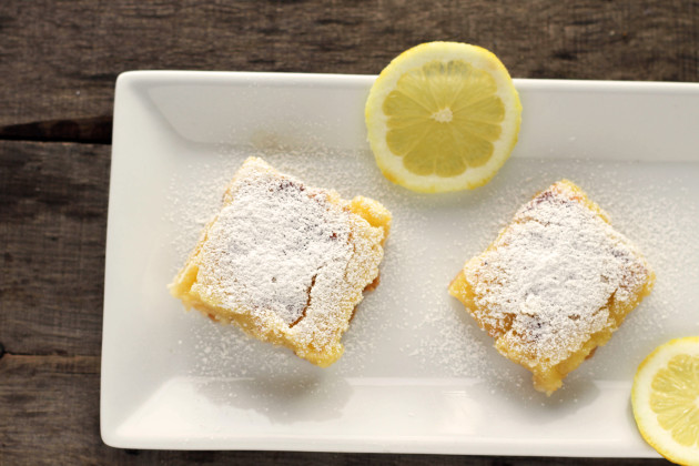 Gluten Free Lemon Bars Photo