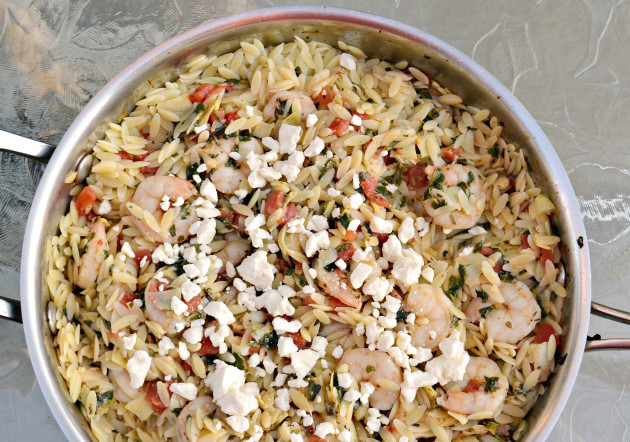 Shrimp and Orzo Photo