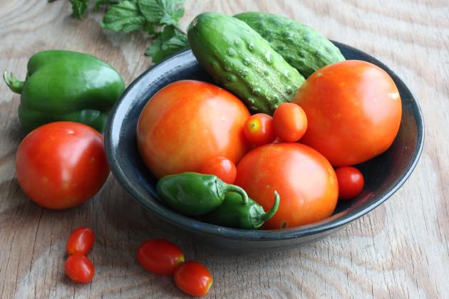 Cucumber Tomato Salad Image