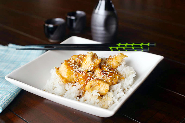 Sesame Chicken Photo