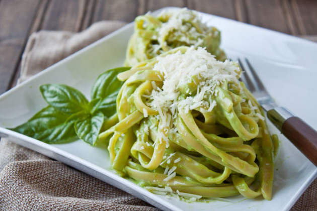 Avocado Pasta Photo