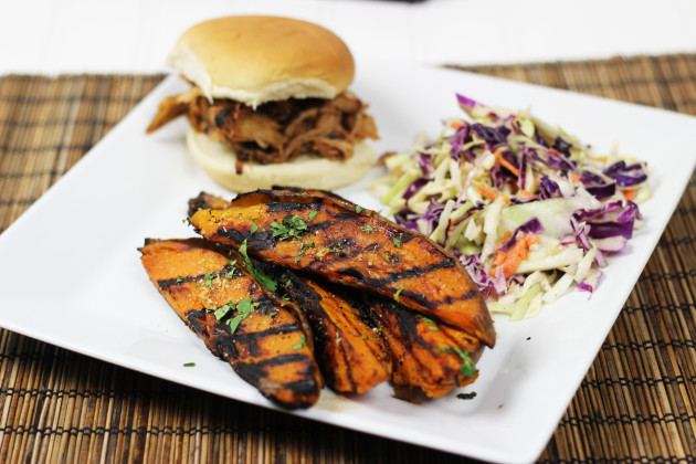 Grilled Sweet Potatoes Photo