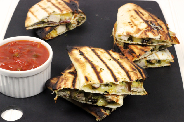 Grilled Chicken Quesadilla Photo