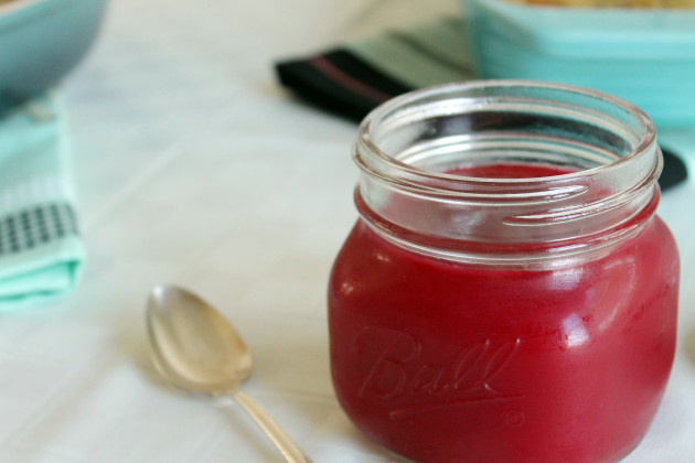 Homemade Cranberry Sauce Photo