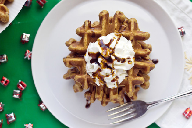 Gingerbread Waffles Picture