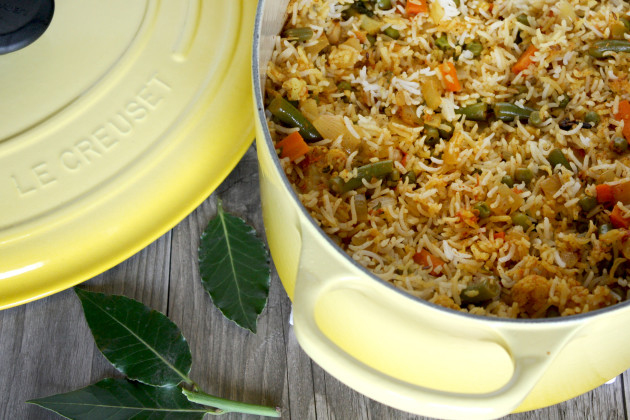 Vegetable Biryani Image