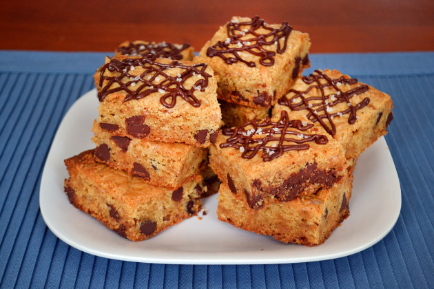 Chocolate Chip Cookie Bars Photo