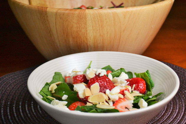 Strawberry Spinach Salad Image