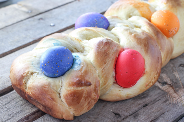 Italian Easter Bread Photo