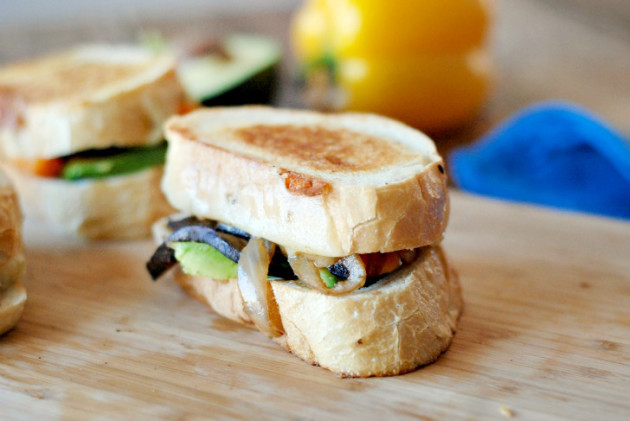 Fajita Grilled Cheese Photo