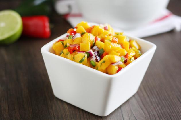 Easy Mango Salsa Photo